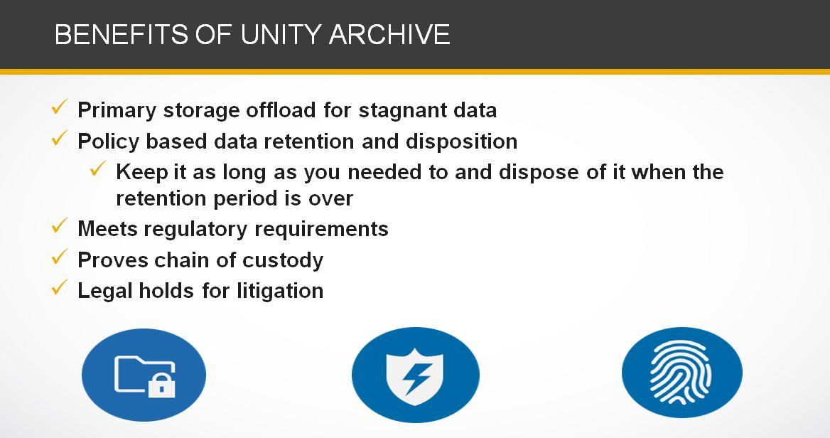 Nexsan Unity, a next-generation unified storage platform